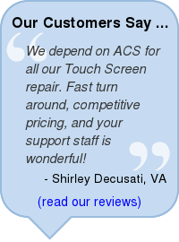 touch screen monitor repair testimonial