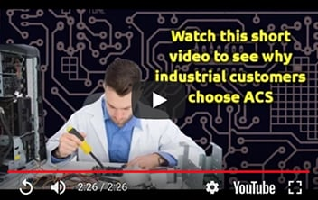 why industrial customers choose acs